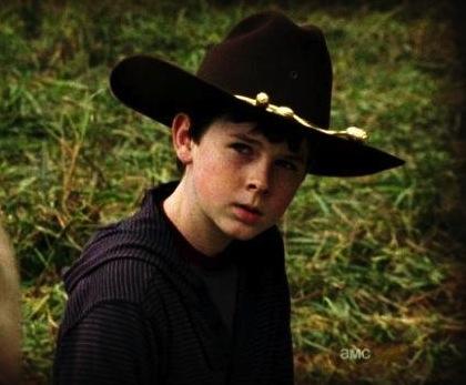 Carl The Walking Dead Season 3