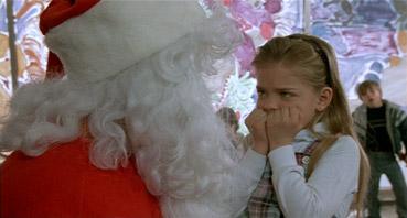 kid santa's lap