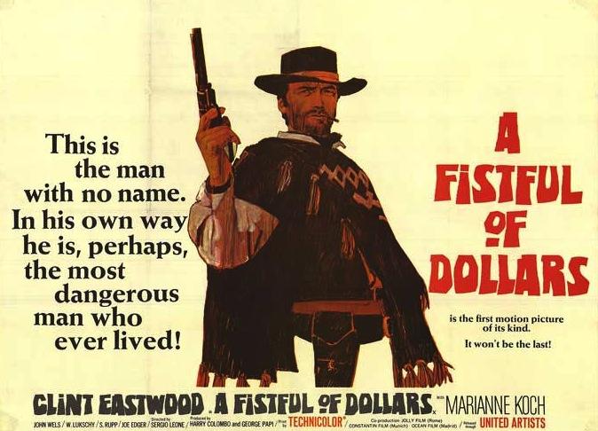 fistfull dollars poster
