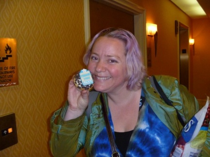 Alyc With Cupcake