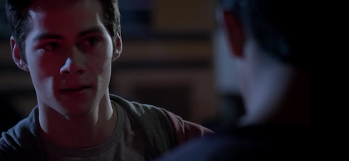 stiles saves scott