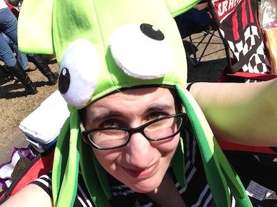 Squid Selfie