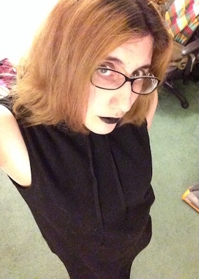 lipstick of mourning