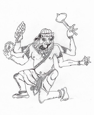 man-lion-vishnu